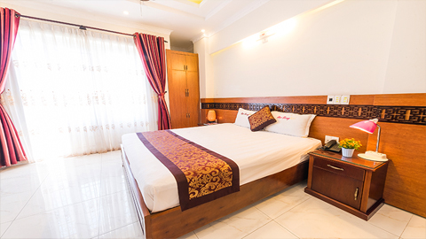 phòng Deluxe Double Đại Long Hotel