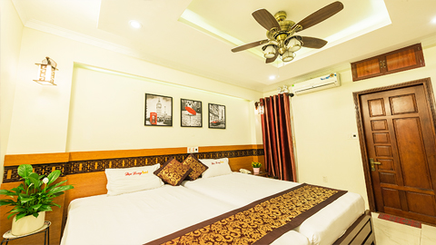 phòng Deluxe Twin Đại Long Hotel