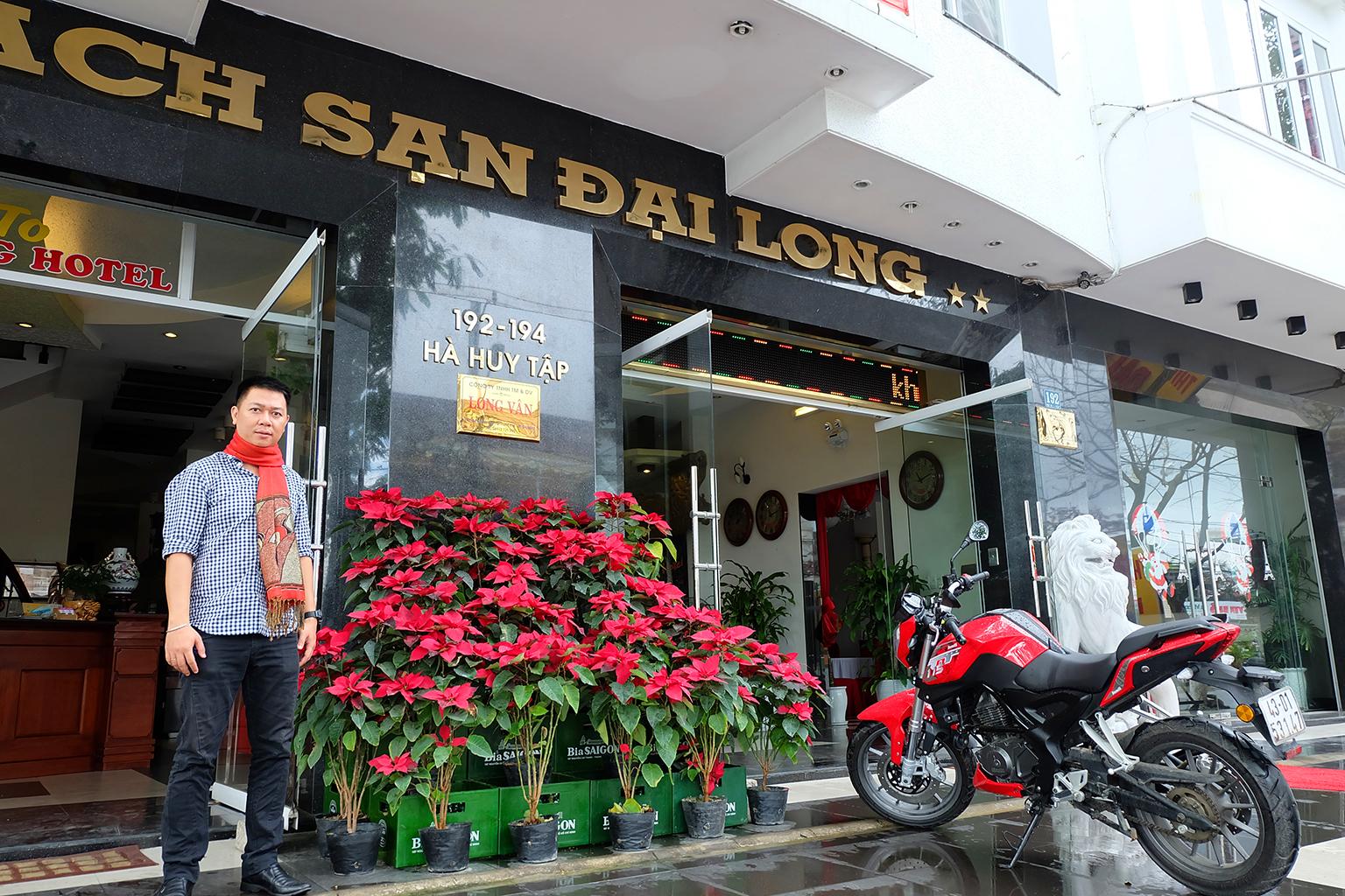 Mặt tiền khách sạn Đại Long