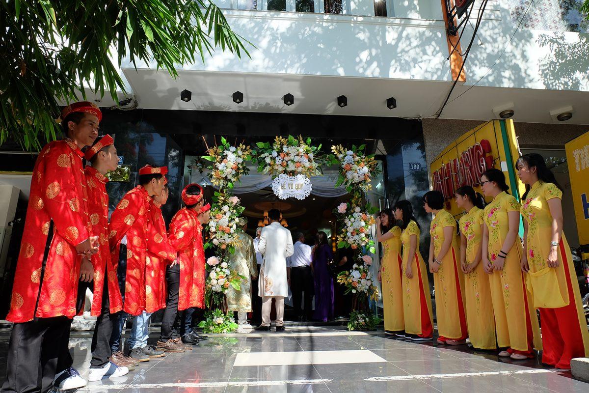 Lễ cưới khách sạn Đại Long